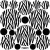 Black and White Zebra Print Wall Decals - Wall Dressed Up - 3