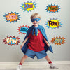 Superhero Comic Wall Decals - Wall Dressed Up - 1