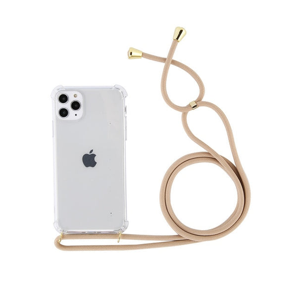 Phone Case Body Strap - Beige
