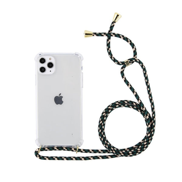 Phone Case Body Strap - Army multicolor