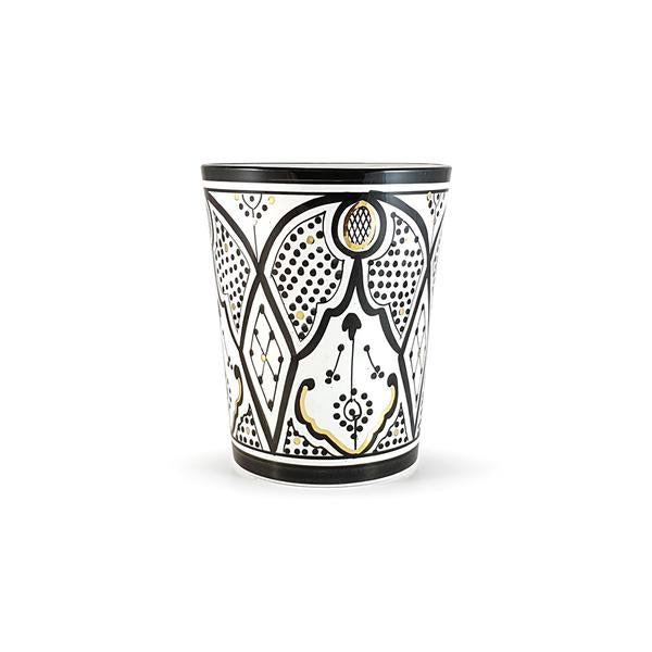 VASE POT GOLD NOIR (1552306012183)