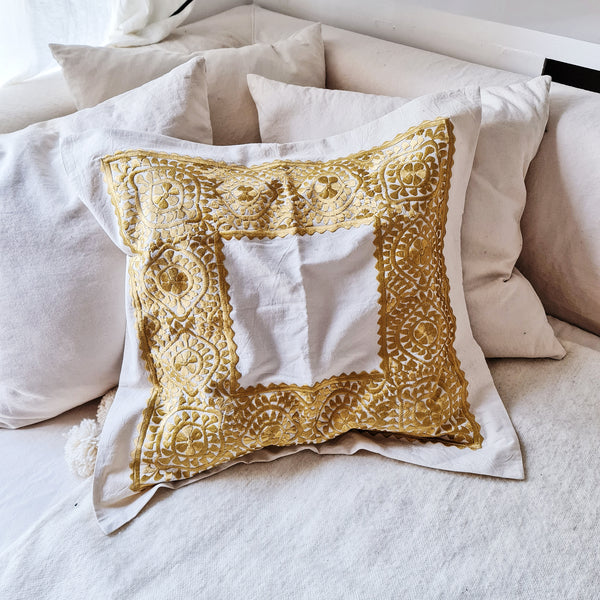 COUSSIN CARRE BRODE GOLD (4655204958250)