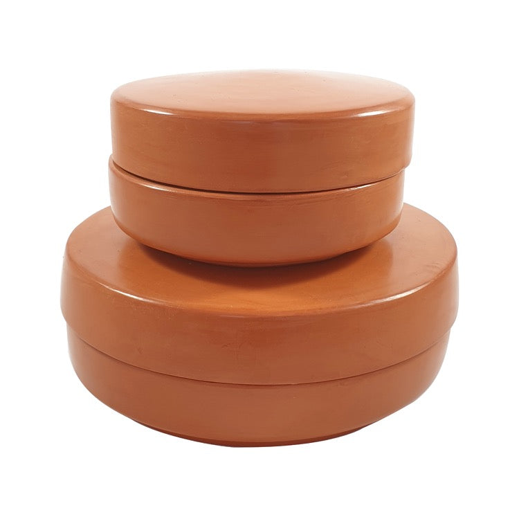 BOÎTES TADELAKT ORANGE TERRACOTTA