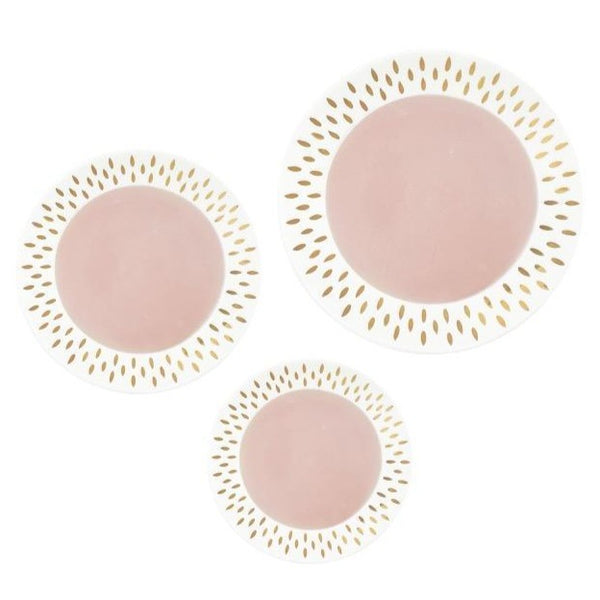 ASSIETTES NOUR ROSE PALE GOLD (4414623055914)