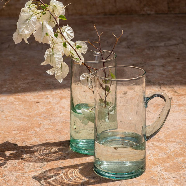 CARAFE EN VERRE RECYCLE