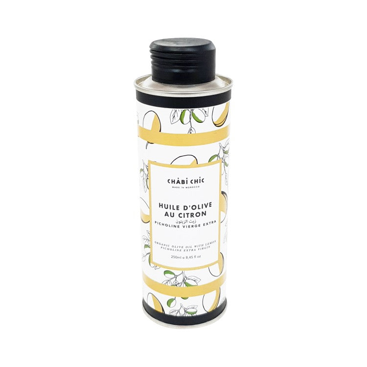 HUILE D'OLIVE CITRON EXTRA VIERGE