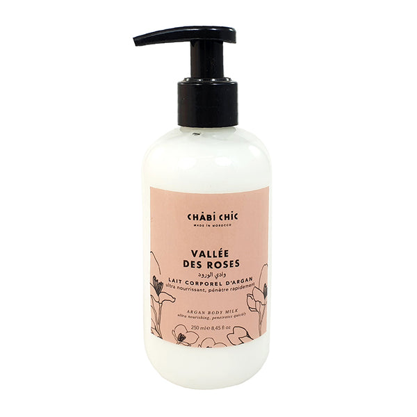 LAIT HYDRATANT D'ARGAN ROSE 250ML