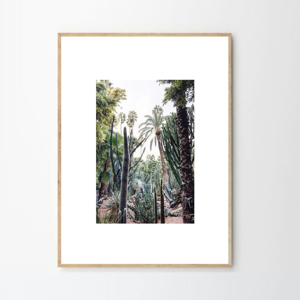 "Copie de CADRE PHOTO ""jungle majorelle"" par MARIE BASTIDE DESIGN (4487681540138)"