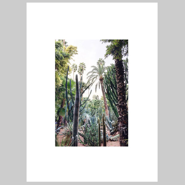 "CADRE PHOTO ""jungle majorelle 50x70cm"" par MARIE BASTIDE DESIGN (4499398230058)"