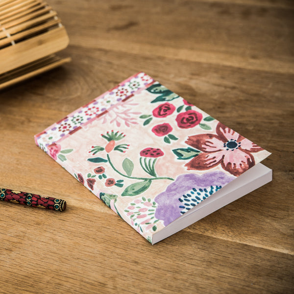 NOTE BOOK ILLUSTRE ROSE (1513825763351)