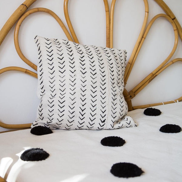 COUSSIN AFRICAIN BLANC