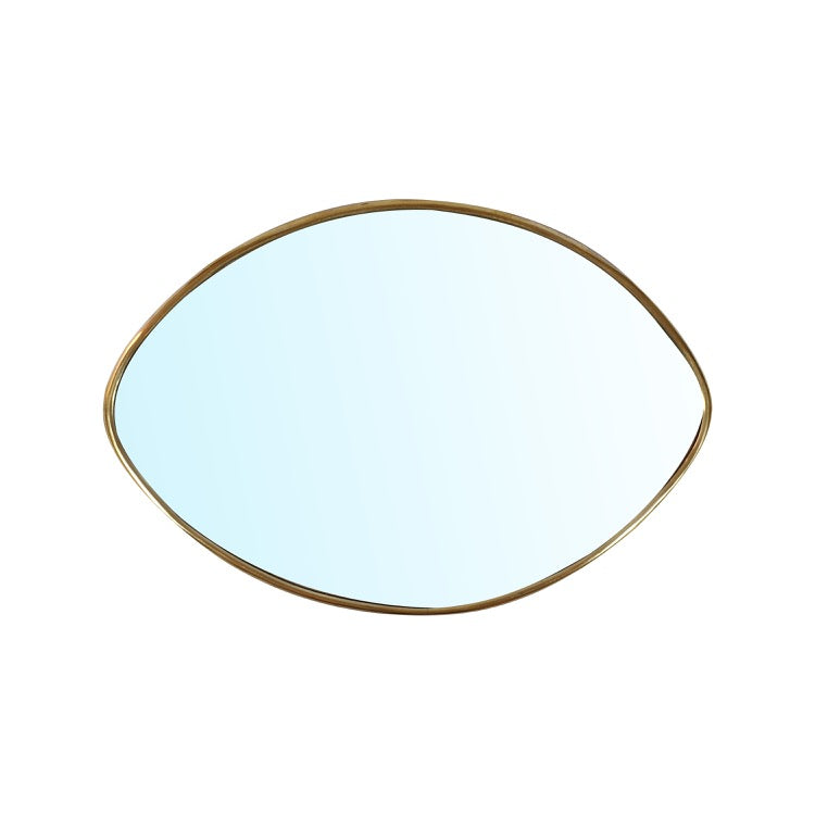 MIROIR ESRA OVAL MAILLECHORT (4622027653162)