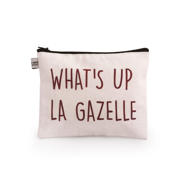 POCHETTE WHATS UP LA GAZELLE MM