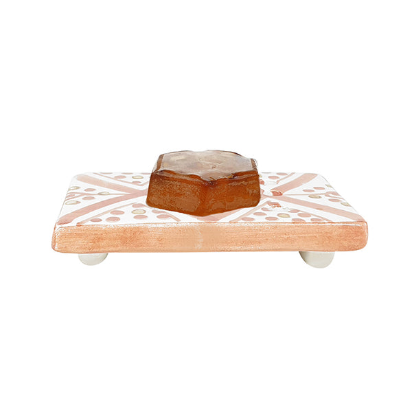 PORTE SAVON ORANGE GOLD (3940000301079)