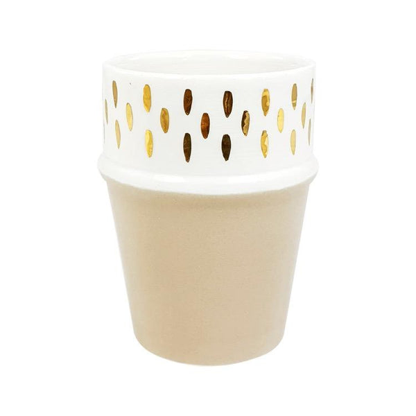 TASSE BELDI NOUR SABLE GOLD
