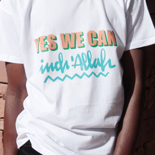 TSHIRT HOMME YES WE CAN