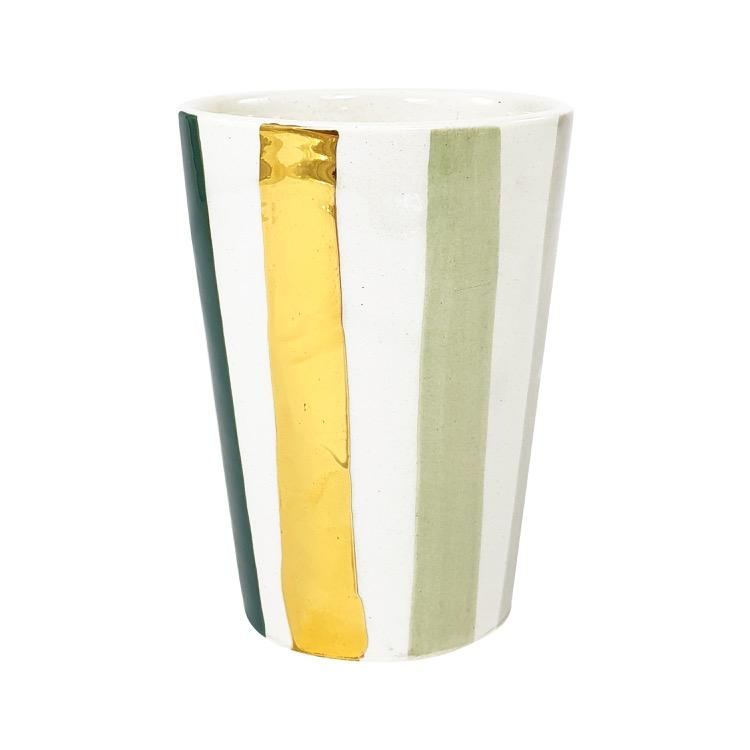 VERRE OURIKA GOLD CELADON (4409764806698)