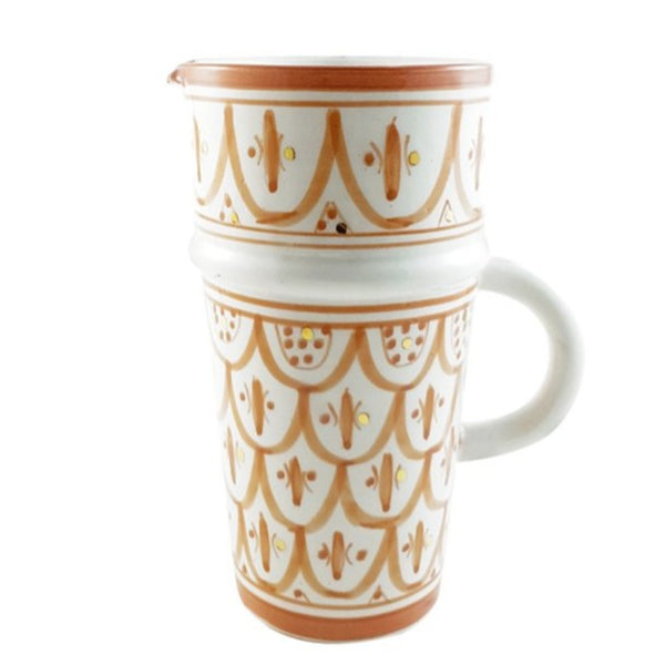 CARAFE CERAMIQUE GOLD TERRACOTTA (4418094170154)