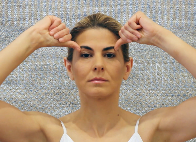 How to Perform Facial Yoga to Lift and Brighten Your Eyes