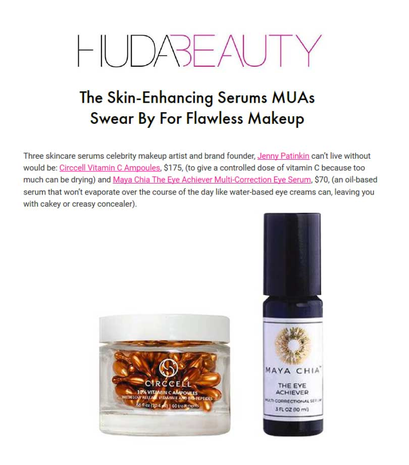 Huda Beauty Vitamin C Ampoules