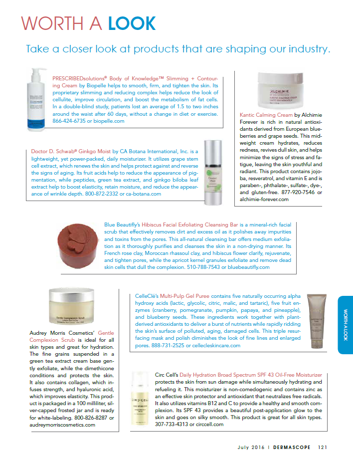 dermascope worth a look circcell skincare
