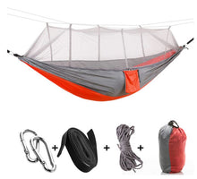 Load image into Gallery viewer, Camping Hammock with Mosquito Net