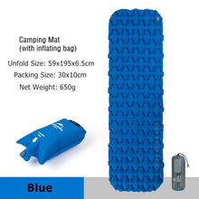 Load image into Gallery viewer, Inflatable Camping Mattress
