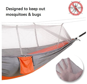 Designed to keep out bugs while outdoor