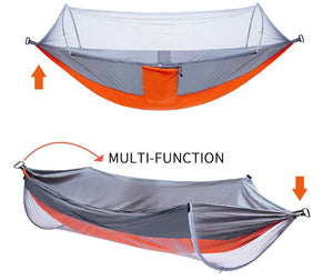 Multi-Function. You can also flip it over and use it as a relaxing hammock in seconds.
