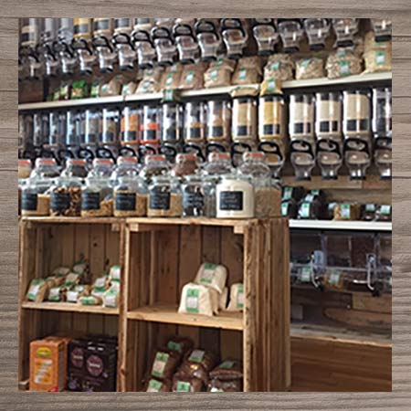 Photograph of products in our shop