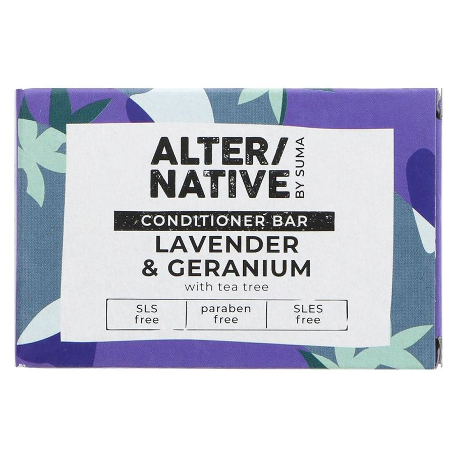 Alter/Native Conditioner Bar Lavendar & Geranium 90g