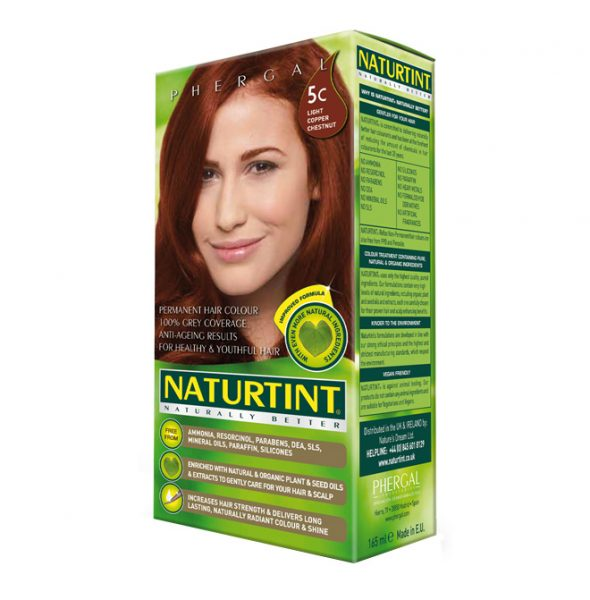 NaturTint Hair Dye - Light Copper Chestnut (5C)