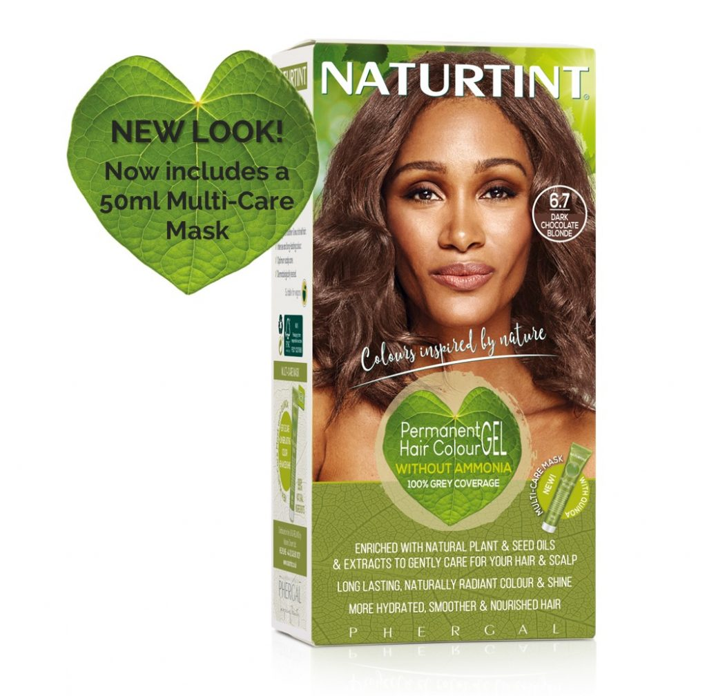 NaturTint Hair Dye - Dark Chocolate Blonde (6.7)