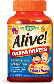 Alive Kids Multi-Vitamin 90 Gummies