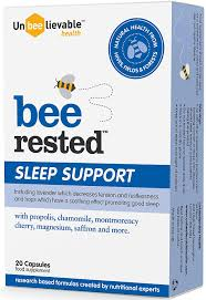 Bee Rested Sleep Support 20 Caps