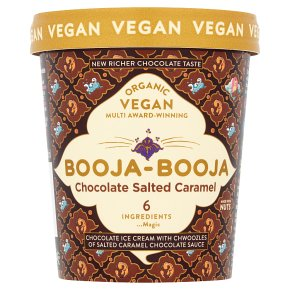 Booja Booja Ice Cream Chocolate Salted Caramel