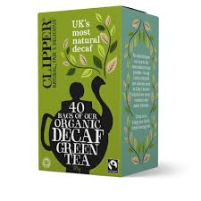 Clipper Decaf Organic Green Tea
