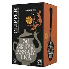 Clipper Tea x50 bags Organic Assam Tea