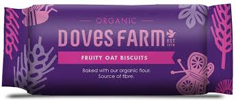 Doves Farm Fruity Oat Organic Biscuits