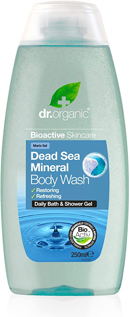 Dr Organic Dead Sea Mineral Body Wash