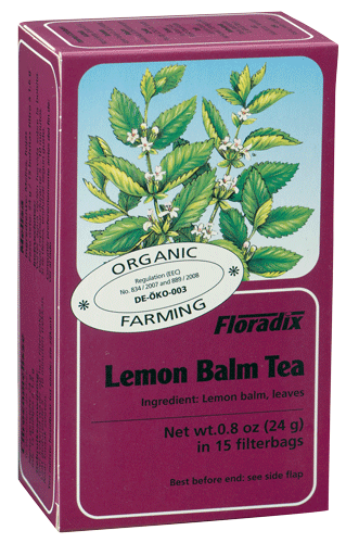 Floradix Tea Lemon Balm Tea