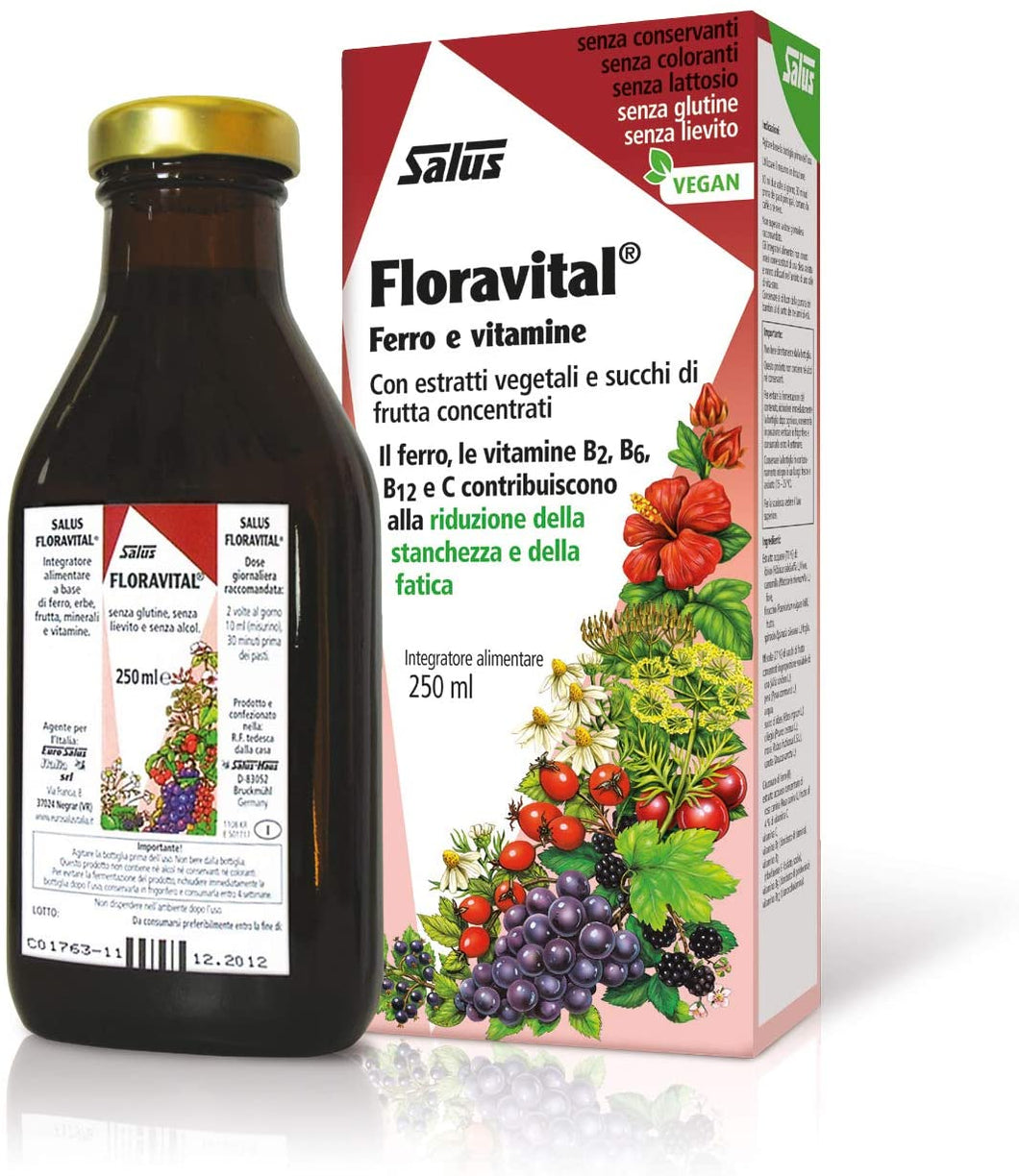 Floravital Liquid Iron and Vitamins 250mls