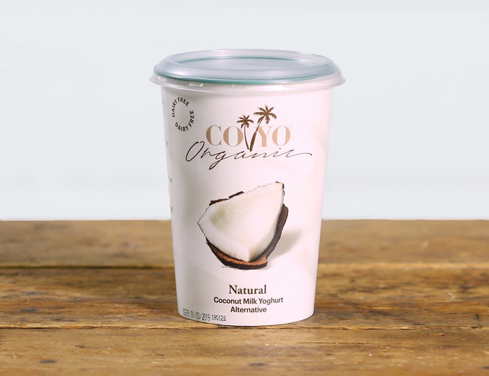 Coyo Organic Natural Coconut Yoghurt Alternative
