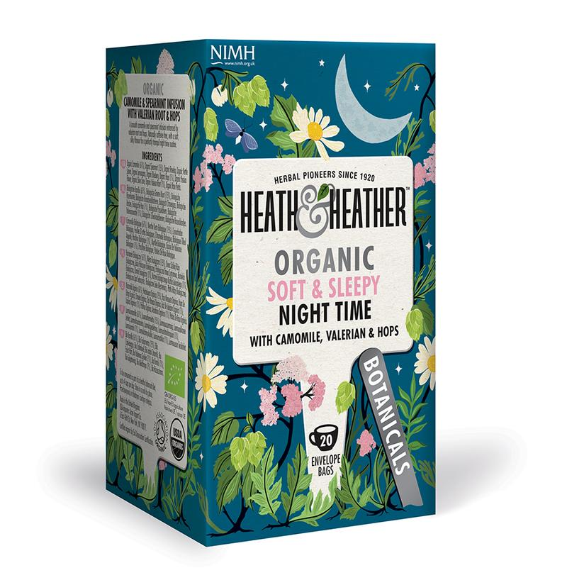 Heath & Heather Organic soft and sleepy Infusion Tea