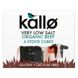 Kallo Beef Stock Cubes very low salt  x6