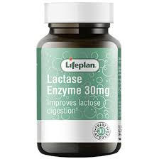 Lifeplan Lactase Enzyme 30mg 30 Caps