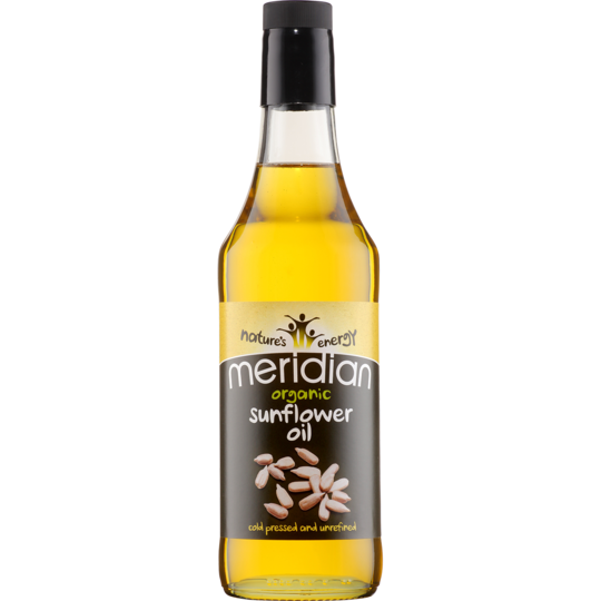 Meridian Organic Sunflower Oil 500mls