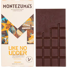 Montezuma's Like No Udder Orange Chocolate 90g