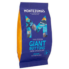 Montezuma's Organic Giant Buttons Dark Chocolate