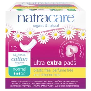 Natracare Ultra Extra Pads x12